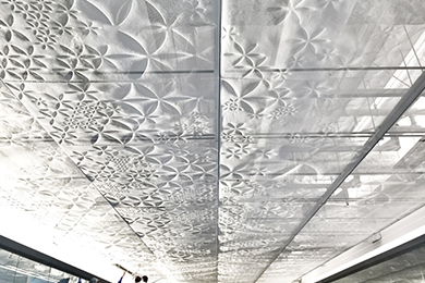 The office entrance ceiling by G-TRIX